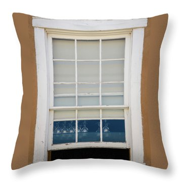 Throw Pillow featuring the photograph Santa Fe Window by Jeff Phillippi