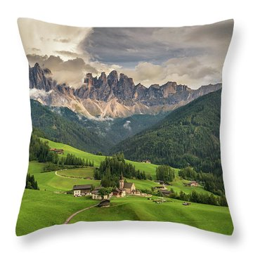 Santa Maddalena Throw Pillow