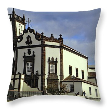 Throw Pillow featuring the photograph Sao Pedro by Tony Murtagh