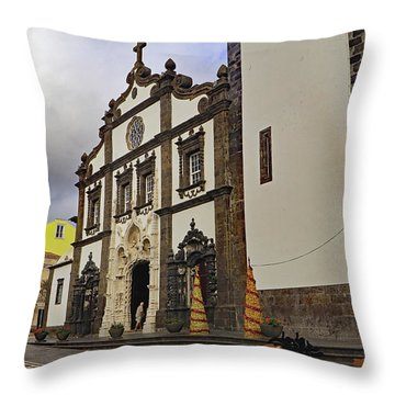 Throw Pillow featuring the photograph Sao Sebastiao by Tony Murtagh