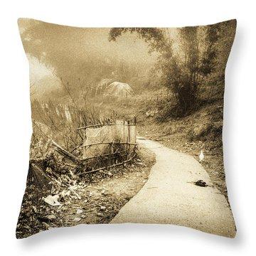 Sapa Dreams In Vietnam Throw Pillow