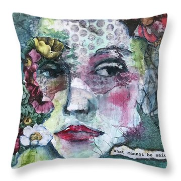 Sappho's Quote Throw Pillow