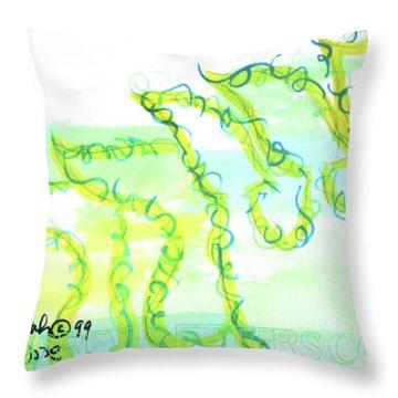 Sarah Nf1-123 Throw Pillow
