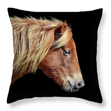 Sarah's Sweat Tea Portrait Throw Pillow