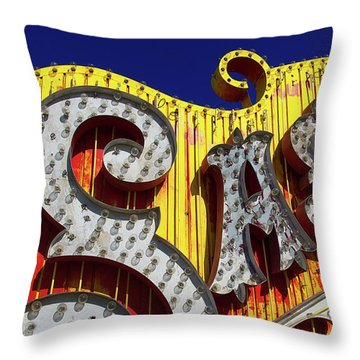 Throw Pillow featuring the photograph Sas by Skip Hunt