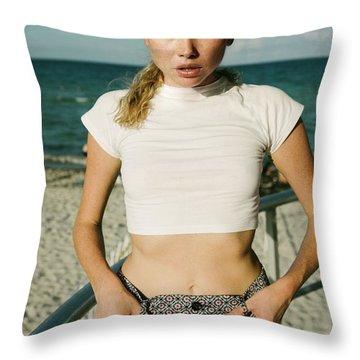 Sasha Dubrovskaya  Throw Pillow