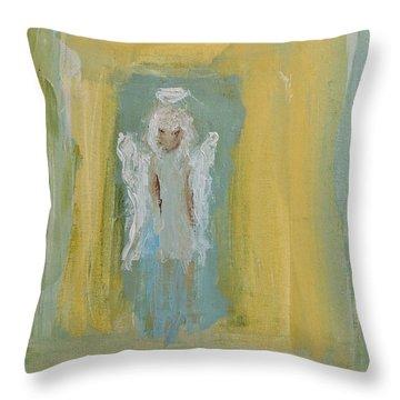 Sassy Frassy Angel Throw Pillow