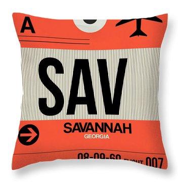 South Georgia Throw Pillows