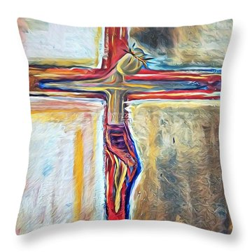 Saviour Throw Pillow