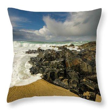 Scarista Beach Throw Pillow