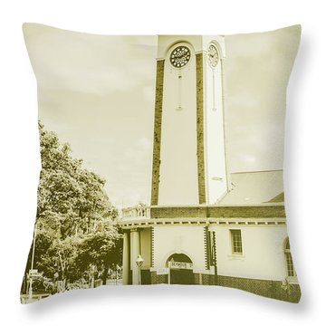 Scenes From Old Sandgate Throw Pillow