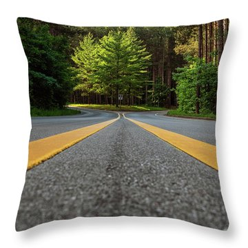 Scenic Drive 2 Throw Pillow