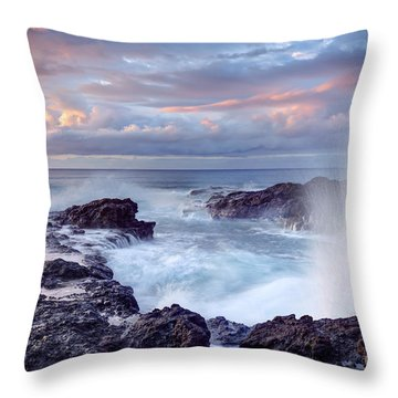 Geological Throw Pillows