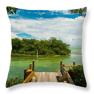 Mangrove Throw Pillows