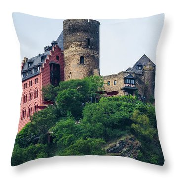 Schonburg Castle Throw Pillow