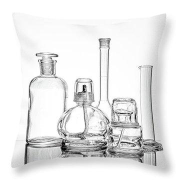 Science Still Life Throw Pillow