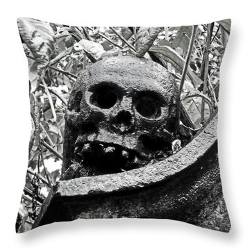Scotland. Edinburgh. On Calton Hill Throw Pillow