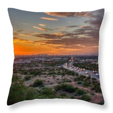 Scottsdale Sunset Throw Pillow