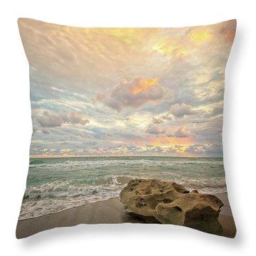Sea And Sky Throw Pillow