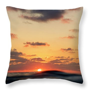 Throw Pillow featuring the photograph Sea Level by Nik West