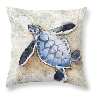 Sea Turtle No. 29 Throw Pillow
