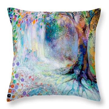 Searching For Forgotten Paths IIi Throw Pillow