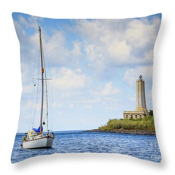 Seascapes 4 Throw Pillow
