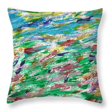Seaside Sensation Throw Pillow
