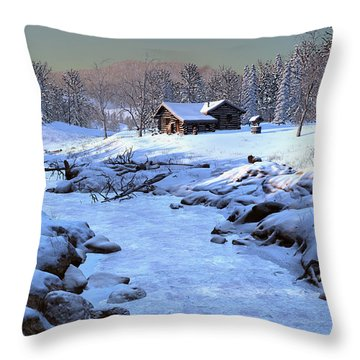 Season Of Repose Throw Pillow