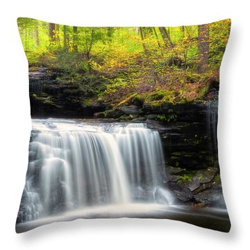 Throw Pillow featuring the photograph Seeing Double by Russell Pugh