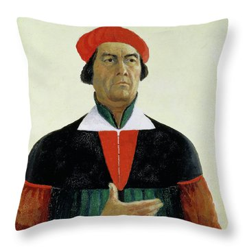 Self Portrait, 1933 Throw Pillow