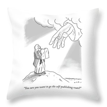 Self Publishing Throw Pillow