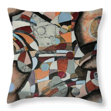 Semi-solid Ground Throw Pillow