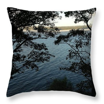 Seneca Lake Throw Pillow