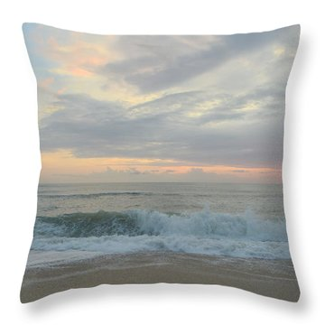Throw Pillow featuring the photograph September 23 2018  by Barbara Ann Bell