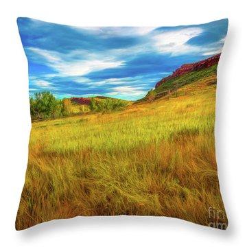 September Morn Throw Pillow