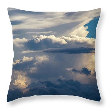 September Storm Chasing 015 Throw Pillow