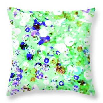 Sequins And Pins 1 Throw Pillow