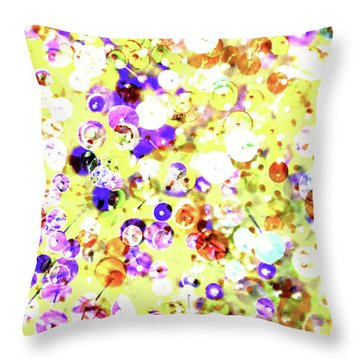 Sequins And Pins 2 Throw Pillow