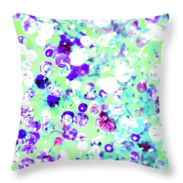 Sequins And Pins 3 Throw Pillow