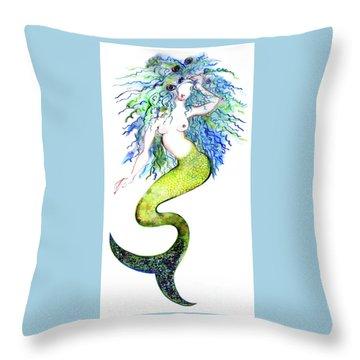 Sereia Throw Pillow