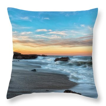 Throw Pillow featuring the photograph Serene Brutality by Russell Pugh