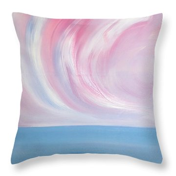 Serenity And Tranquility 2 Throw Pillow