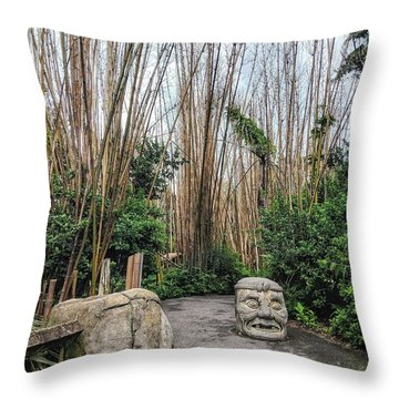 Serenity Path Throw Pillow