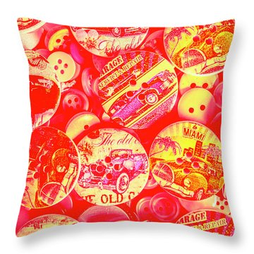 Service And Repair Throw Pillow