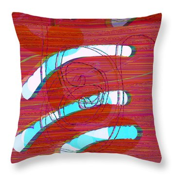 Throw Pillow featuring the digital art Set Me Free by Bee-Bee Deigner