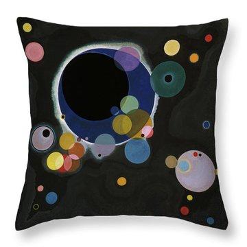 Several Circles - Einige Kreise Throw Pillow