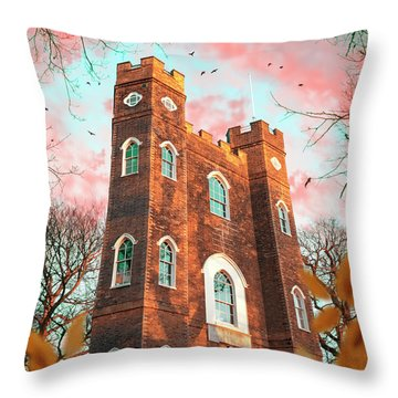 Severndroog Castle Throw Pillow