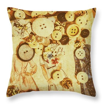 Sewers Guide Throw Pillow