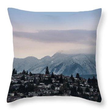 Seymour Winterscape Throw Pillow